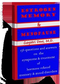 Estrogen memory & Menopause. A book By gayatri Devi
