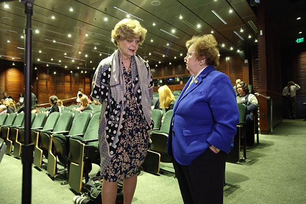 Dr. Marianne Legato and Senator Barbara Mikulski