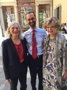 Professor Gillian Einstein, Dr. Giuseppe Caracciolo and Dr. Marianne Legato