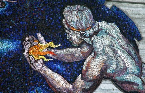 Prometheus Holding Fire