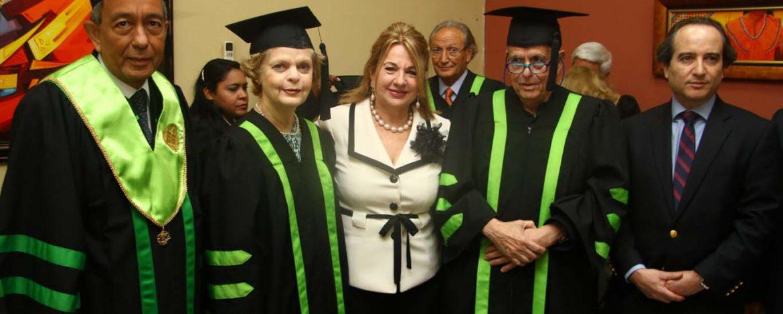Honoris Causa Ceremony Panama Dec. 2015