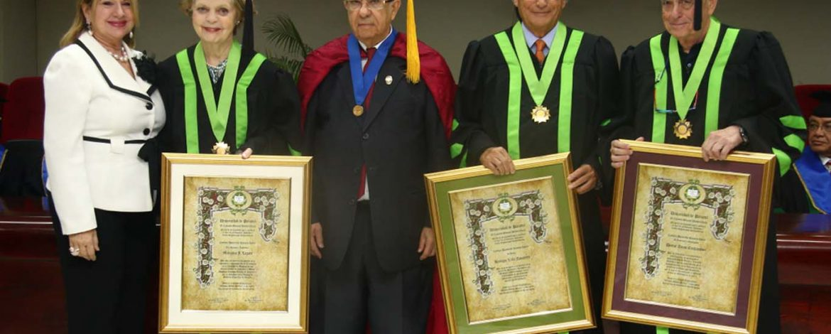 Four Honorees Causa Ceremony Panama