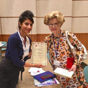 Yasmin Farhadian and Dr. Legato