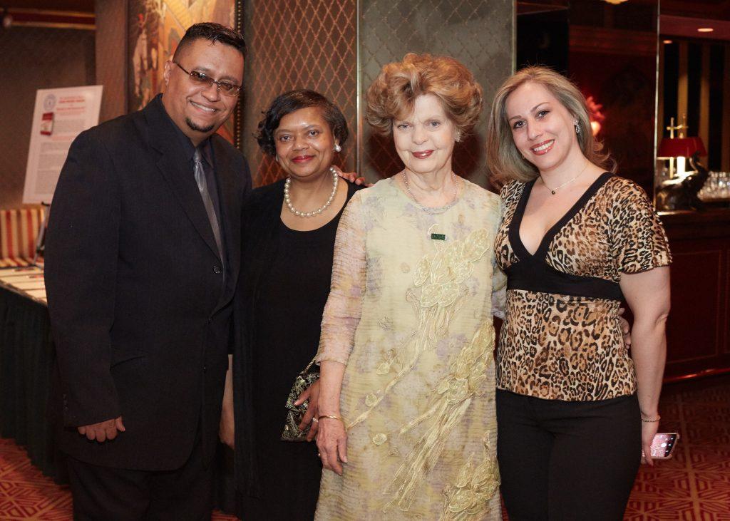 Angel Berenguel, Sharon Redding, Dr. Marianne Legato _ Wendy Dauber (FGSM Executive Director)