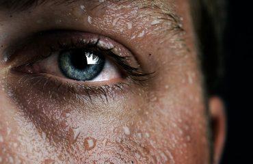 women's body perspiration