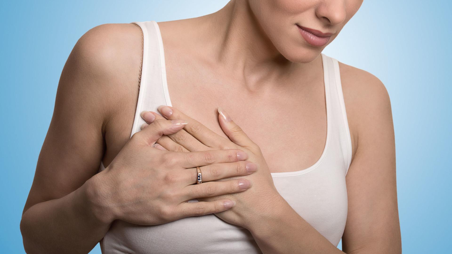 lumps in women breast