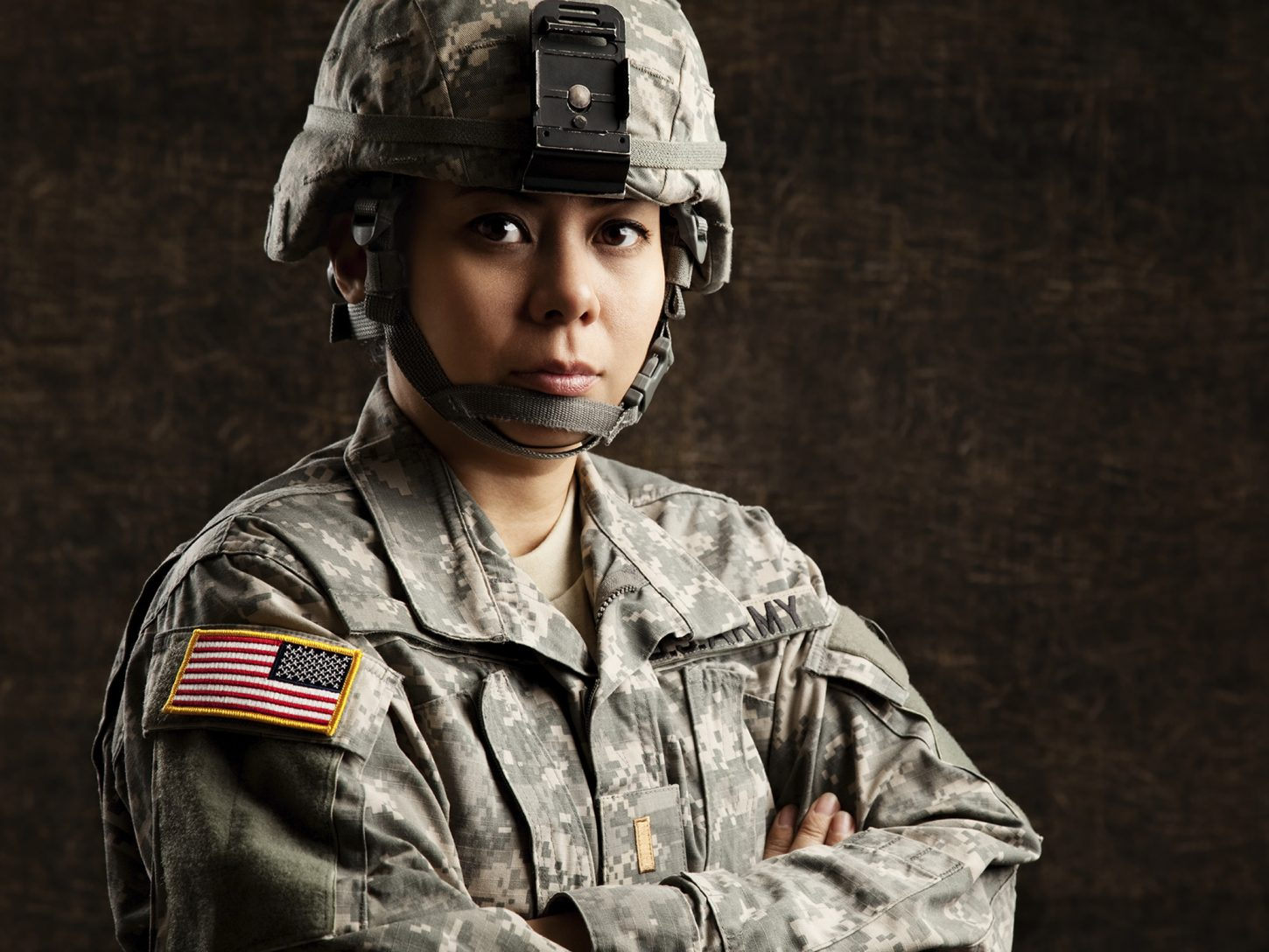 women ready for combat