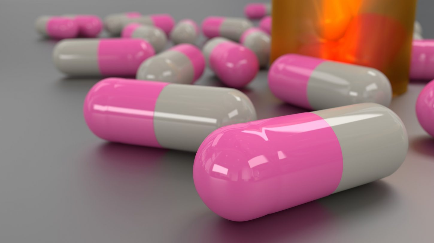 Image of antibiotic pills