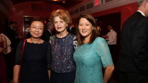 Dr. Chen Wang (The Birch-Derchin Scholar), Dr. Marianne Legato, Dr. Emily J. Tsai (M. Irene Ferrer Scholar)