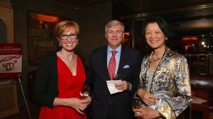 Dr. Sabra Klein (Johns Hopkins), Mr. Andrew Maloney and Dr. Pamela Ouyang (Johns Hopkins)
